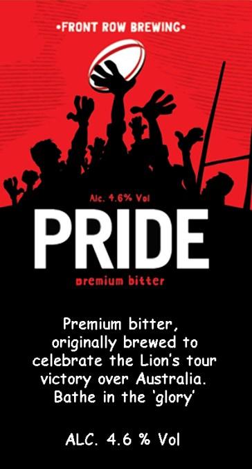 Pride tasting notes