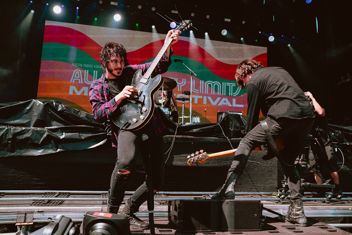 ACL FEST 2018: Reignwolf is Pure Rock'n'Roll Passion