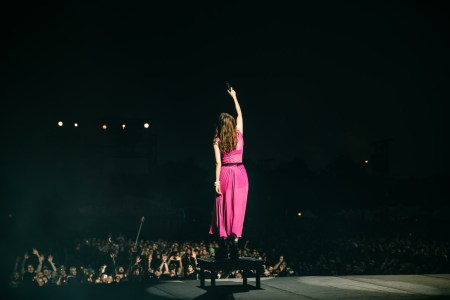 CHVRCHES at the Austin City Limits Festival 10/13/2018. Photo by Sydney Gawlik. Courtesy ACL Fest/C3 Photo