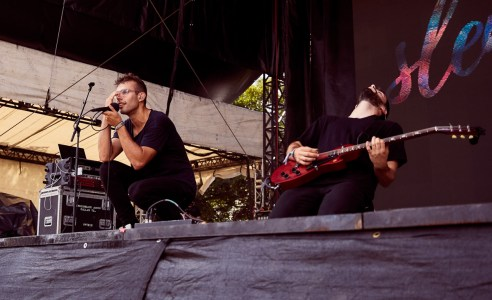 Slenderbodies at the Austin City Limits Festival 10/13/2018. Photo by Grant Hodgeon. Courtesy ACL Fest/C3 Photo
