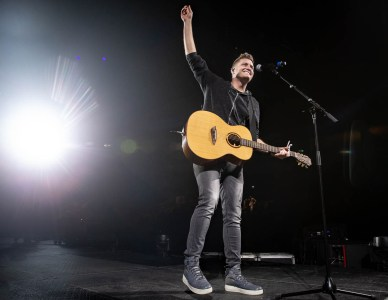 Adam Agee at Winter Jam 2019 at H-E-B Center, Cedar Park, TX 3/3/2019. © 2019 Jim Chapin Photography