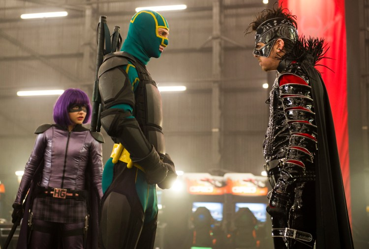 'Kick-Ass 2' Makes Heroes Comic - Front Row Features