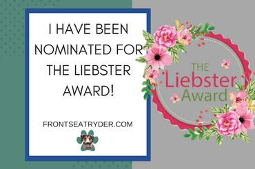 I Have Been Nominated for the Liebster Award!