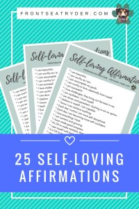 List of 25 self loving affirmations