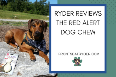 Ryder Reviews the Red Alert Dog Chew
