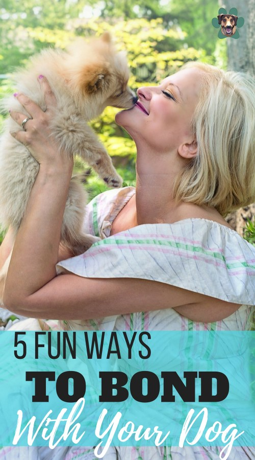 Did you know that there's a big difference between loving your dog and sharing a deep bond with her? Love is a feeling that comes naturally. I've loved all my dogs the moment I laid eyes on them. A bond, though, is something that must be nurtured, that grows over time. Here are 5 ways to grow your bond with your dog.