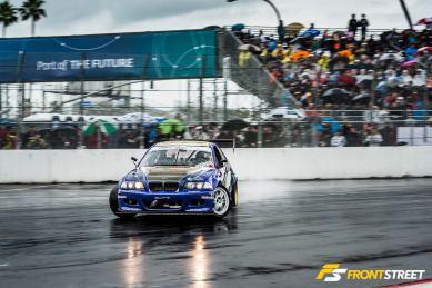 Formula Drift's Rain Dance Season Opener In Long Beach