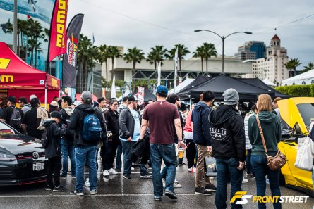 Formula Drift's Rain Dance Season Opener In Long Beach