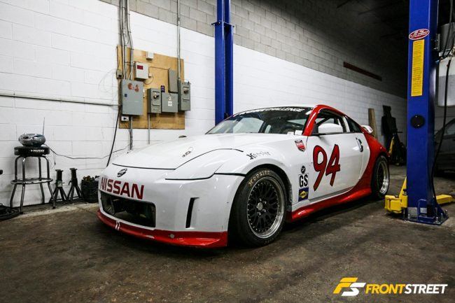 Sasha Anis Is Chasing Legends In His Nissan 350Z
