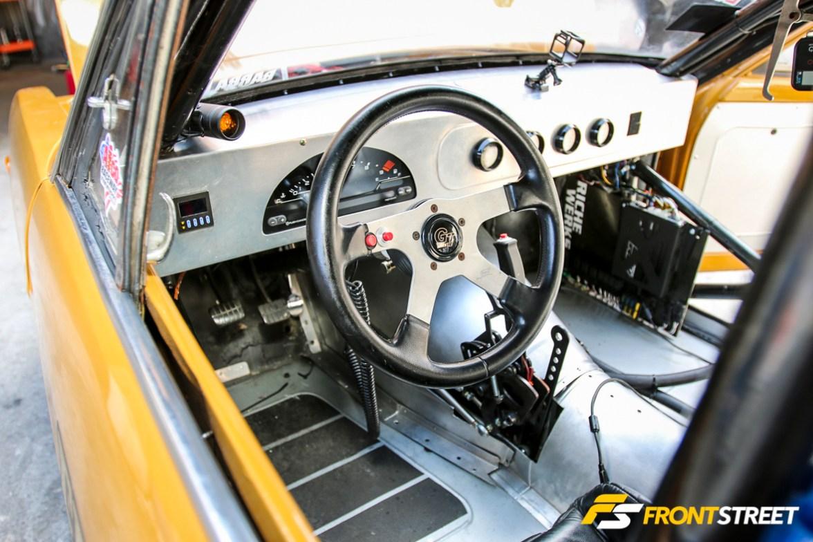 EL Barón: Erick Aguilar's Honda-Powered Datsun 1200