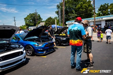 Braving The Heat For A Good Cause: The Evolution Performance Car Show
