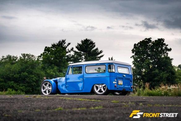 The Land Kreuzer: Not Your Average FJ40 Resto