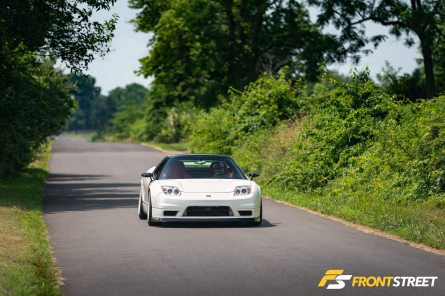 Pure Stock-Engined Supremacy: George Gomez' 2003 Acura NSX