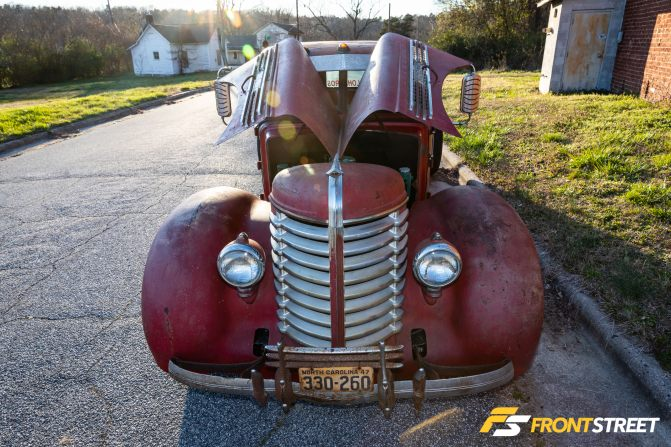 Diamond T In The Rough: Cale Lohr's Custom Rat Rod Turns Heads