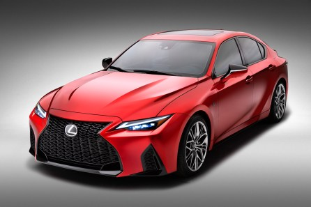 It's Not The IS F, But The 5.0L V8 Is Back In The 2022 Lexus IS 500