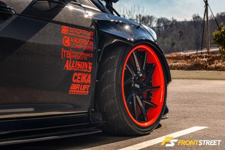 Jeremy Allison's 850whp Supercharged Coyote-Swapped RWD Focus ST Is Unforgettable