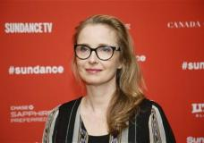 """Actress Julie Delpy poses at the premiere of """"Wiener-Dog"""" during the 2016 Sundance Film Festival on Friday, Jan. 22, 2016, in Park City, Utah. (Photo by Danny Moloshok/Invision/AP)"""