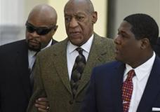 ctor and comedian Bill Cosby, center, arrives for a court appearance Tuesday, Feb. 2, 2016, in Norristown, Pa. Cosby was arrested and charged with drugging and sexually assaulting a woman at his home in January 2004. (Clem Murray/The Philadelphia Inquirer via AP, Pool)