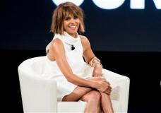 Halle Berry speaks at the 2nd Annual MAKERS Conference at Terranea Resort on Tuesday, Feb. 2, 2016, in Rancho Palos Verdes, Calif. (Photo by Rich Fury/Invision/AP)