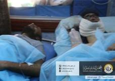 In this picture released online by the Sabratha Municipal Council on Friday, Feb. 19, 2016 wounded men lie in a hospital after U.S. warplanes struck an Islamic State training camp in Sabratha, Libya near the Tunisian border. A Tunisian described as a key extremist operative probably was killed, the Pentagon announced. In Libya, local officials estimated that more than 40 people were killed with more wounded, some critically. (Sabratha Municipal Council via AP) MANDATORY CREDIT