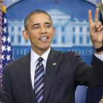 President Barack Obama Takes Victory Lap On Economy