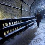 Fluffy Snow Blanketing Northeast, Days After A Winter Wallop