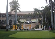 In this photo taken April 15, 2017, President Donald Trump's Mar-a-Lago estate in Palm Beach, Fla. The U.S. State Department's recent promotion of President Donald Trump's for-profit Florida resort is drawing criticism from Democrats and ethics advocates. (AP Photo/Alex Brandon)