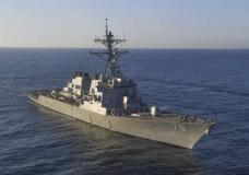 In this image provided by the U.S. Navy, the guided-missile destroyer USS Porter (DDG 78) transits the Mediterranean Sea on March 9, 2017. The United States fired a barrage of cruise missiles into Syria Thursday night in retaliation for this week's gruesome chemical weapons attack against civilians, the first direct American assault on the Syrian government and Donald Trump's most dramatic military order since becoming president. The Tomahawk missiles were fired from warships USS Porter and USS Ross in the Mediterranean Sea. (Mass Communication Specialist 3rd Class Ford Williams/U.S. Navy via AP)