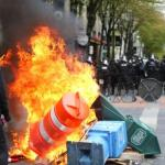 Violence Leads Arrests In May Day Marches In U.S. Northwest