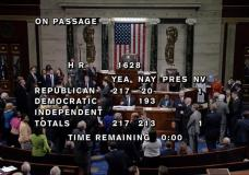 The floor of the U.S. House chamber is shown in this video grab as the House of Representatives voted on the American Healthcare Act, to repeal major parts of Obamacare and replace it with the Republican healthcare plan, on Capitol Hill in Washington, U.S., May 4, 2017.  U.S. House TV/Handout via Reuters
