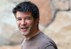 FILE - In this July 10, 2012, file photo, Uber CEO and co-founder Travis Kalanick arrives at a conference in Sun Valley, Idaho. Kalanick said in a statement to The New York Times on Tuesday that he has accepted a request from investors to step aside. Kalanick says the move will allow the ride-sharing company to go back to building itself rather than become distracted by another fight. (AP Photo/Paul Sakuma, File)