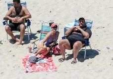 Gov. Chris Christie Is Blistered Over His Day At The Beach