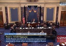 New Sanctions Bill Ready For Senate Approval