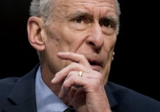 Director of National Intelligence Dan Coats speaks at a Senate Select Committee on Intelligence hearing on worldwide threats, Tuesday, Feb. 13, 2018, in Washington. (AP Photo/Andrew Harnik)