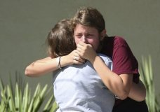 Students and neighbors describe the suspect in the deadly rampage at a Florida high school as a troubled teenager who threatened and harassed peers and posed with guns in disturbing photos on social media. (Feb. 15)