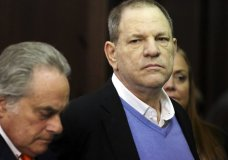 Harvey Weinstein, right, appears at his arraignment with his lawyer Benjamin Brafman, in Manhattan Criminal Court on Friday, May 25, 2018 in New York. Weinstein is charged with two counts of rape and one count of criminal sexual act. He was released on $1 million dollars bail. (Jefferson Siegel/New York Daily News via AP, Pool)