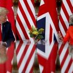 Trump Pulls Diplomatic Backflip, Praising May After Barbs