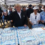 Trump Marvels At Hurricane Damage, Hears Stories Of Struggle