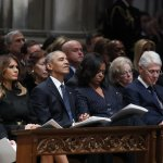 Bush Celebrated With Praise And Humor At Cathedral Farewell