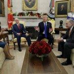 Trump Bickers With Dem Leaders, Threatens Gov't Shutdown
