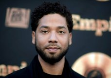 "FILE - In this May 20, 2016 file photo, actor and singer Jussie Smollett attends the ""Empire"" FYC Event in Los Angeles. Chicago police said Sunday, Feb. 17, 2019, they're still seeking a follow-up interview with Smollett after receiving new information that ""shifted"" their investigation of a reported attack on the ""Empire"" actor. (Richard Shotwell/Invision/AP, File)"
