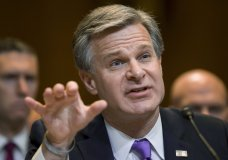"""WASHINGTON (AP) — FBI Director Chris Wray said Tuesday that he does not consider court-approved FBI surveillance to be """"spying"""" and said he has no evidence the FBI illegally monitored President Donald Trump's campaign during the 2016 election.  His comments at a Senate Appropriations subcommittee hearing broke from Attorney General William Barr, who has said that he believed the Trump campaign had been spied on during an investigation into potential collusion with Russia. Trump seized on those comments as part of his allegation that the investigation was tainted by law enforcement bias.   Asked by Sen. Jeanne Shaheen, D-N.H., if he would say the FBI is """"spying"""" when it investigates suspected terrorists and mobsters while following """"investigative policies and procedures,"""" Wray replied, """"Well, that's not the term I would use.""""  He added: """"I believe that the FBI is engaged in investigative activity, and part of investigative activity includes surveillance activity of different shapes and sizes. And to me, the key question is making sure that it's done by the book, consistent with our lawful authorities. That's the key question. Different people use different colloquial phrases.""""  Wray declined to discuss in detail the FBI's investigation into the Trump campaign because of an ongoing Justice Department inspector general probe into the origins of the Russia inquiry. Barr has said he expects the watchdog report to be done in May or June.  But asked whether he was aware of evidence that the FBI had illegally spied on the Trump campaign, Wray said, """"I don't think I personally have any evidence of that sort.""""  Barr is investigating whether there was a proper basis for the FBI to open a counterintelligence investigation into ties between the Trump campaign and Russia.  """"The attorney general is seeking to understand better the circumstances at the department and the FBI relating to how this investigation started, and we're working to help him get that understanding,"""" Wray said"""