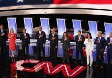 Debate Puts Biden's Long Legislative Record In The Hot Seat