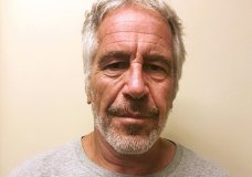 "FILE - This March 28, 2017, file photo, provided by the New York State Sex Offender Registry shows Jeffrey Epstein. A judge denied bail for jailed financier Jeffrey Epstein on sex trafficking charges Thursday, July 18, 2019, saying the danger to the community that would result if the jet-setting defendant was free formed the ""heart of this decision."" (New York State Sex Offender Registry via AP)"