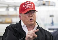 President Donald Trump speaks during a meeting about the coronavirus at the Centers for Disease Control and Prevention, Friday, March 6, 2020, in Atlanta. (AP Photo/Alex Brandon)