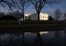 FILE - In this Feb. 22, 2021, file photo the White House is seen in Washington. (AP Photo/Evan Vucci, File)