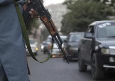 Taliban fighter patrol in Kabul, Afghanistan, Saturday, Aug. 28, 2021. (AP Photo/Khwaja Tawfiq Sediqi)