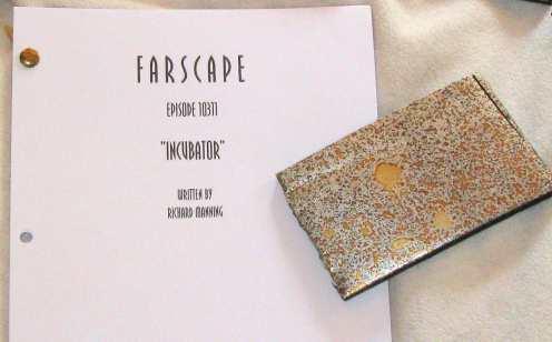 Farscape script + piece of Moya