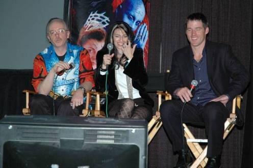 Ricky Manning, Claudia Black, Ben Browder
