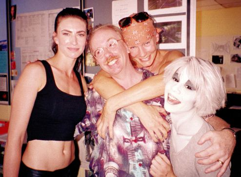 Claudia Black, Ricky Manning, Virginia Hey, Gigi Edgley
